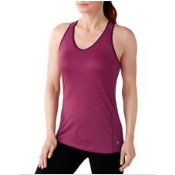 21404991cc32b Smartwool NTS 150 Striped Merino Wool Layer Tank. M 5c547bb0819e9031c8906f43